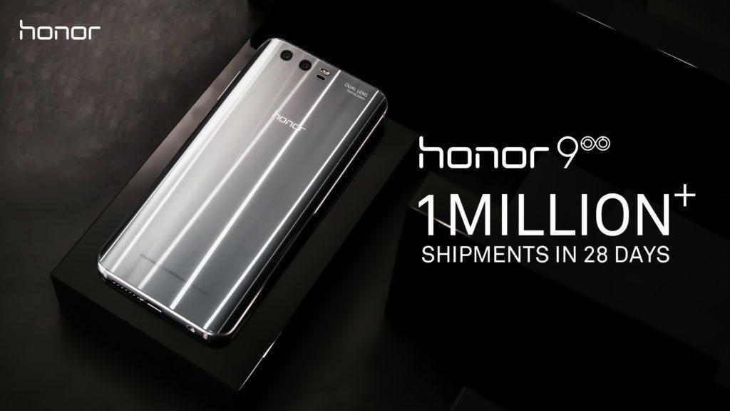 honor 9 milion