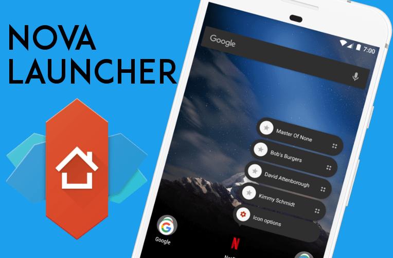 nova launcher 5.4.1