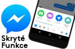 skryte funkce facebook messenger tipy triky