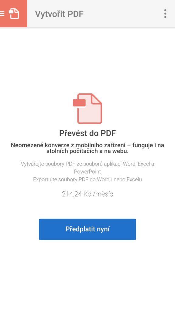 adobe scan to pdf