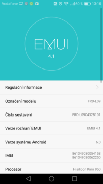 Honor 8 – system Android, EMUI 7