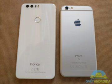 Honor 8 vs. iPhone 2