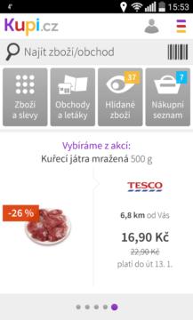 Kupi.cz slevy aplikací