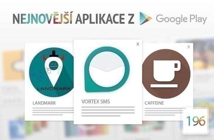 Nejnovější aplikace