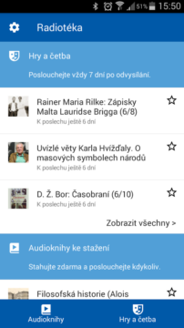 Radiotéka: audioknihy do kapsy