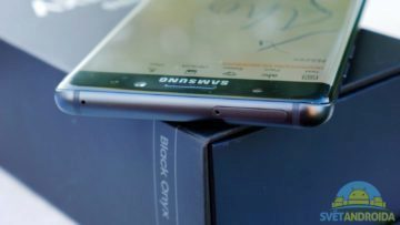 Samsung Galaxy Note 7 – konstrukce, slot pro karty