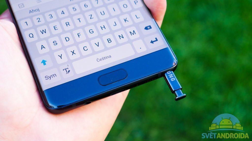 Samsung Galaxy Note 7 - konstrukce, spodní část telefonu
