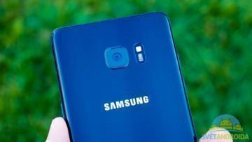 Samsung Galaxy Note 7 – konstrukce, zadni cast, fotoaparat