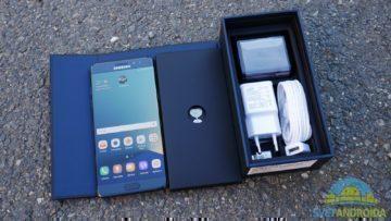 Samsung Galaxy Note 7 – obsah balení