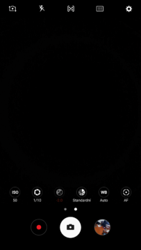 Samsung Galaxy Note7 – system Android, aplikace fotoaparatu 1