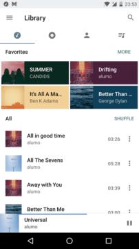 aplikace style music