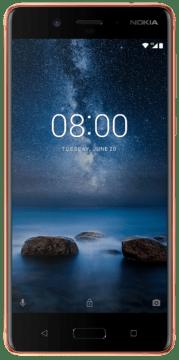 Telefon Nokia 8 displej IPS