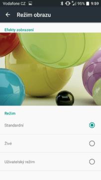 Vodafone Smart Ultra 7 obrazovka