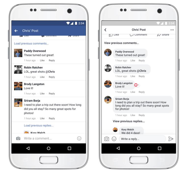 aplikace-facebook-design-messenger-vzhled