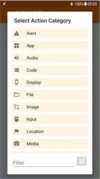 aplikace tasker