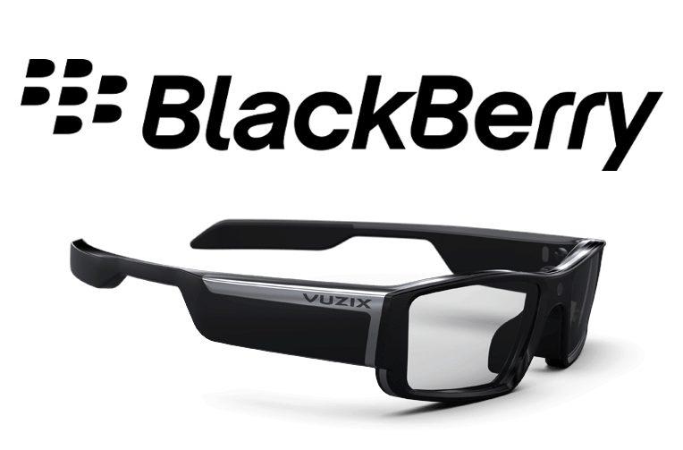 Chytré brýle BlackBerry vybaví UEM softwarem