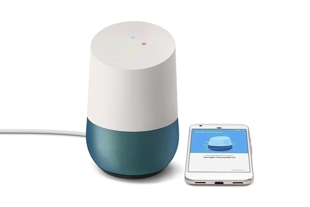 chytry reproduktor google home mini verze