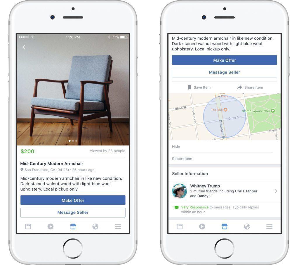 facebook marketplace bazar