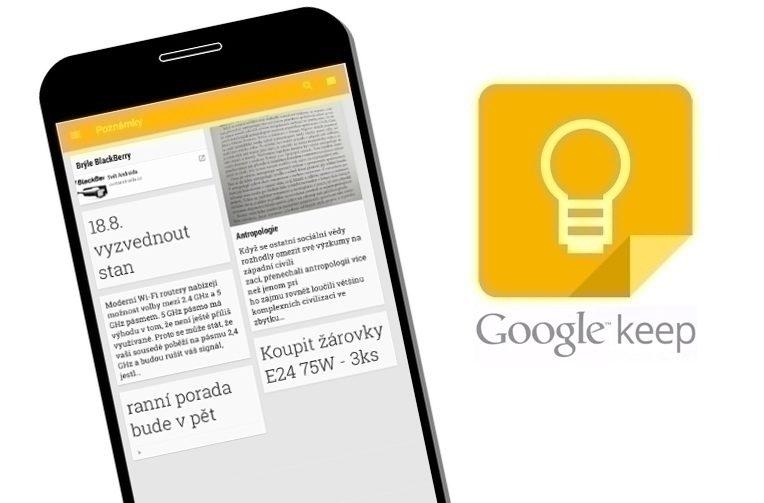 Užitečné triky Google Keep, o kterých jste možná ani nevěděli.