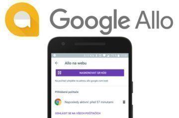 google allo na webu google assistant