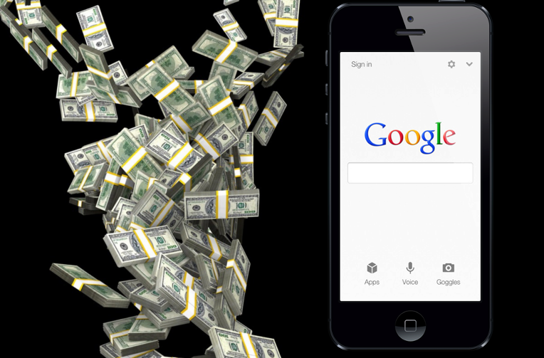 google vyhledavac na ios