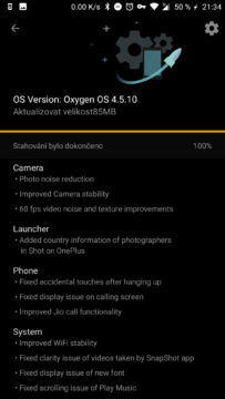 oneplus 5 aktualizace oxygen os android