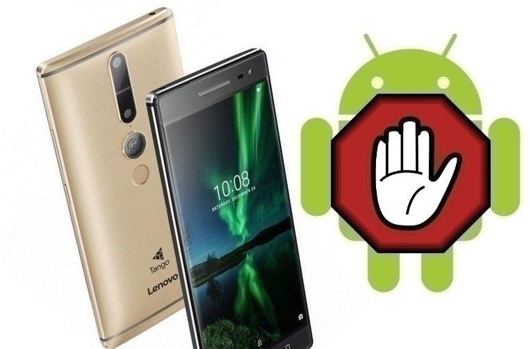 telefony Phab již další aktualizaci na Android 7.0 Nougat nedostanou.
