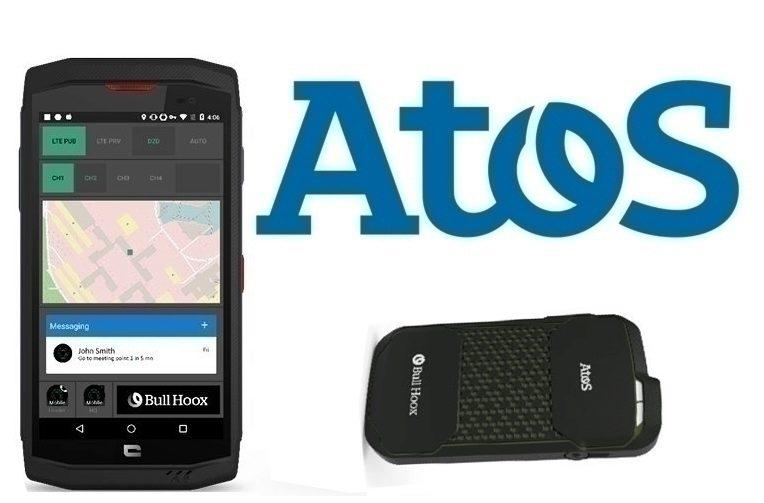 Společnost Atos na veletrhu spotřební elektroniky IFA představila speciální telefon určený pro zásahové jednotky.