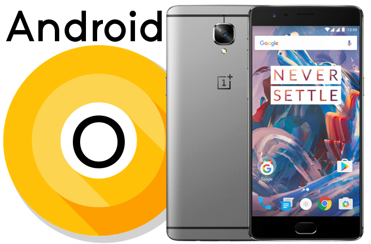 telefony OnePlus 3T android O