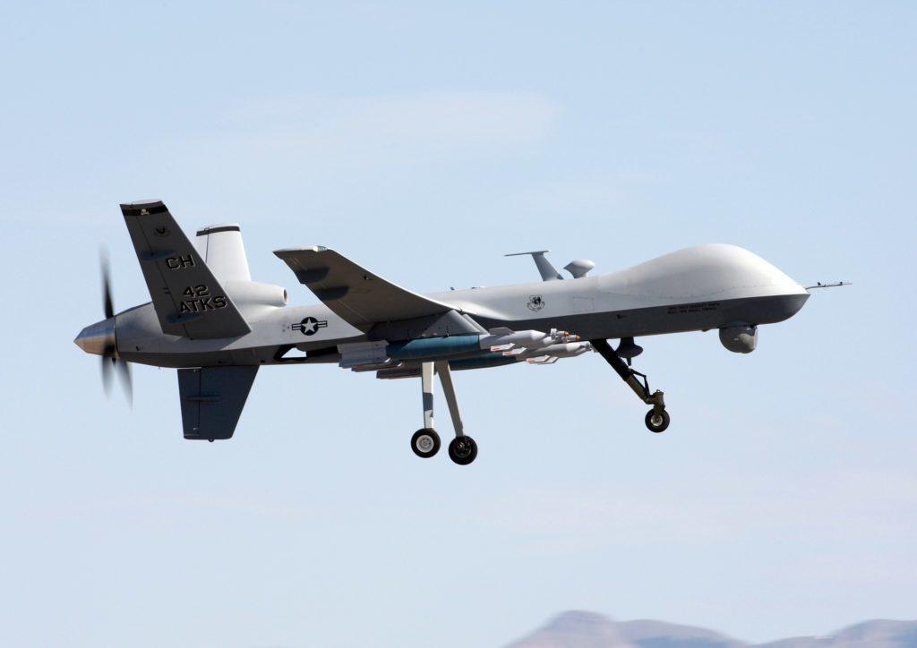 dron A MQ-9 reaper