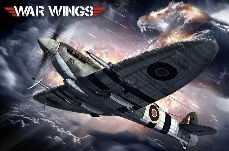 Hra War Wings je zjednodušenou leteckou bojovkou
