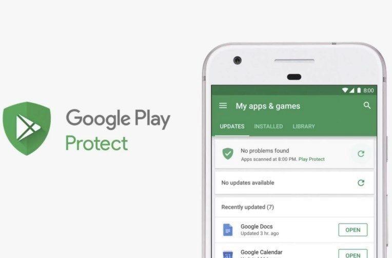 zabezpeceni google play skenovani aplikaci