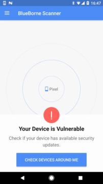 BlueBorne Vulnerability Scanner by Armis 1_1