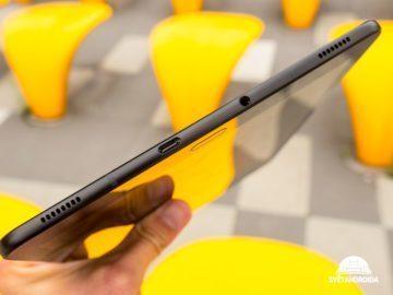 Galaxy Tab S3 spodni strana
