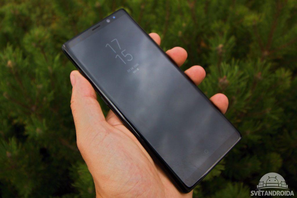 Samsung Galaxy Note 8 ambiet display