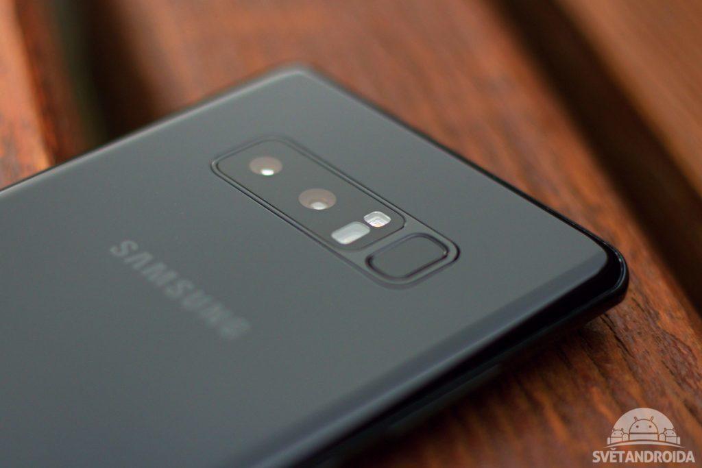 Samsung Galaxy Note 8 fotoaparát