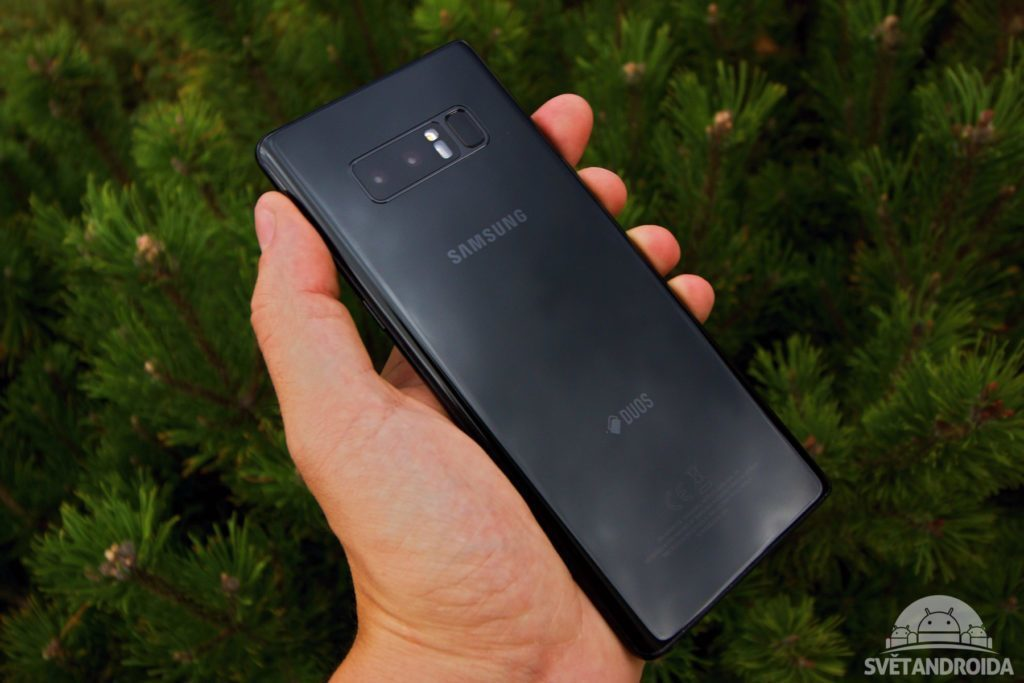 Samsung Galaxy Note 8 záda