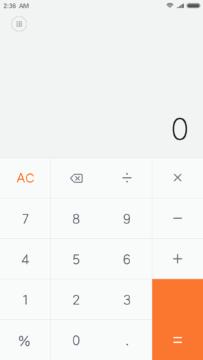Xiaomi kalkulacka Android