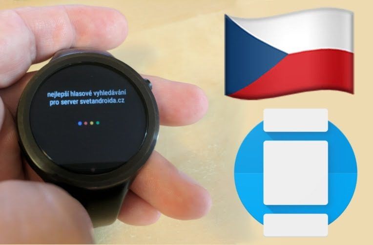 android wear 2.0 cestina chytre hodinky
