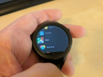 android wear 2 menu
