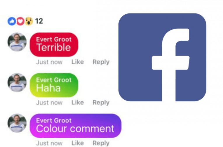 barevne komentare facebook