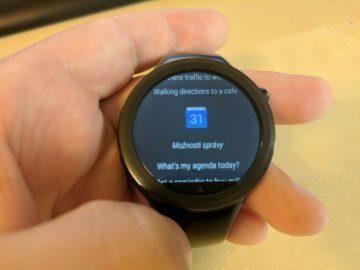 chytre hodinky android v cestine