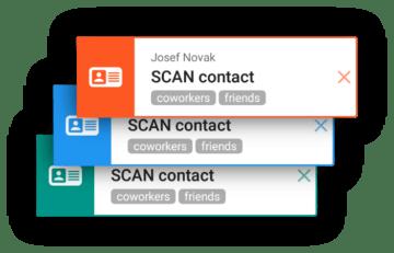 karty aplikace CONTACT details