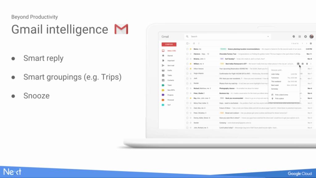 gmail na webu novinky