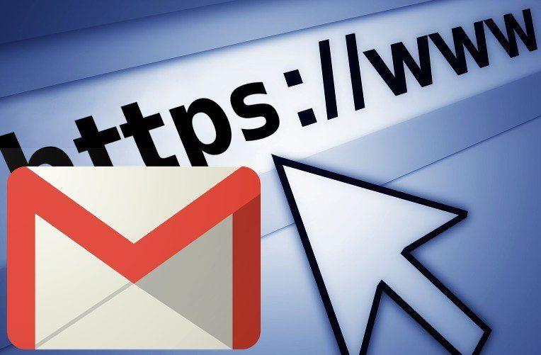 Gmail převádí adresy a čísla na odkazy
