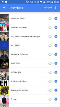 google feed serialy