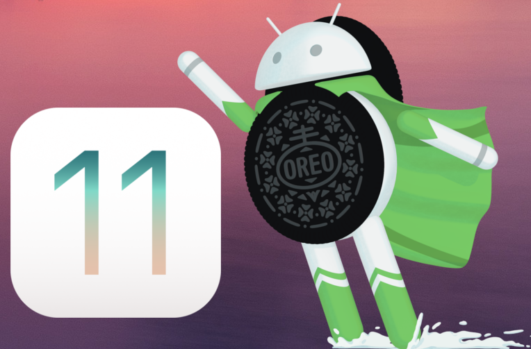 ios 11 android 8 oreo