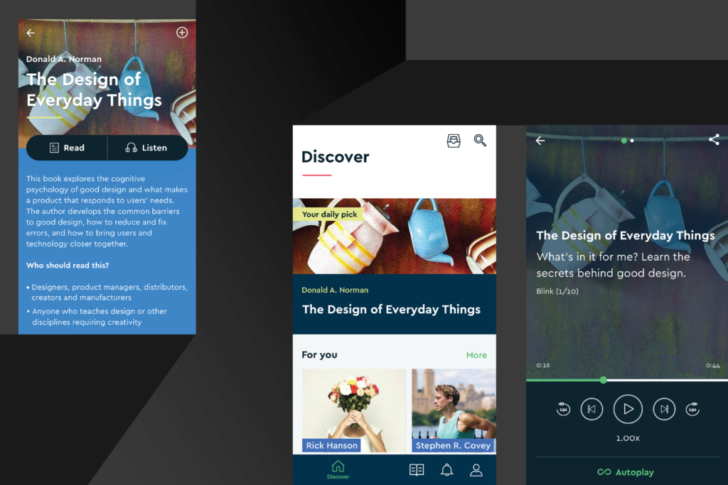 material design knihy blinklist