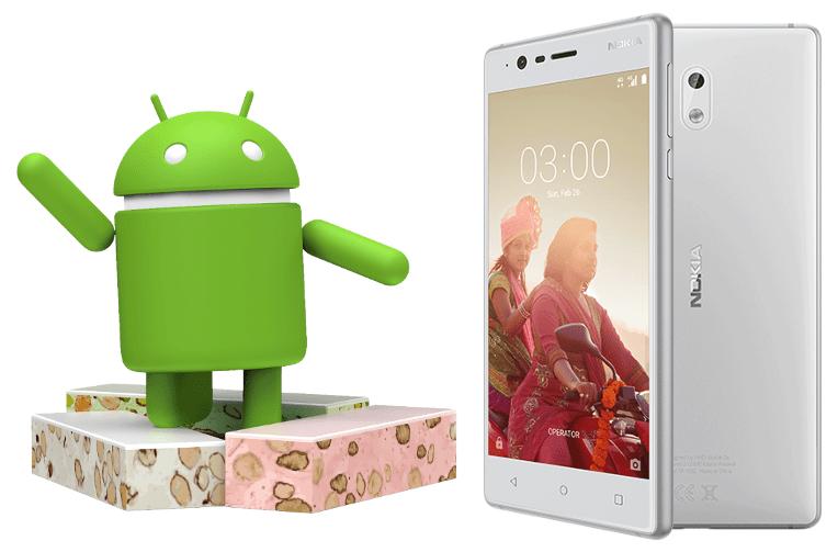 nejlevnejsi nokia 3 android 7