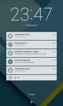 seznam notifikací Android Oreo